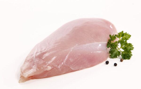 Garnished Fresh Chicken Breast